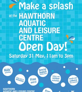 Hawthorn Aquatic Centre Open Day