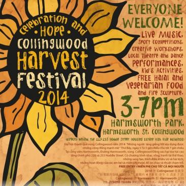 Collingwood Harvest Festival  Posters