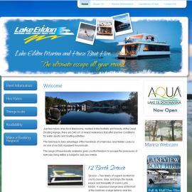 Eildon Marina Website