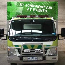 St John Vehical Signage