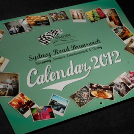 Sydney Road, Brunswick Calendar