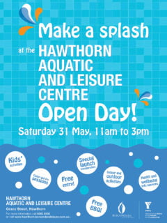 Hawthorn Aquatic Centre Billboard