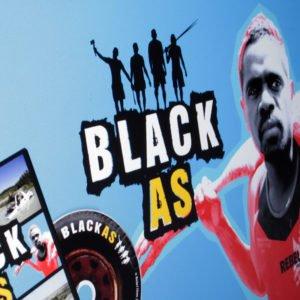 website development and logo design for black as