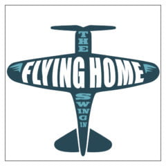 flying home logo design for cd packaging