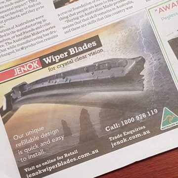 jenok news paper advet